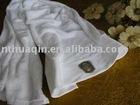 plain white face towel