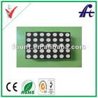 5x7 dot led matrix with green color