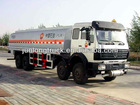 North Benz 8*4 mobile fuel truck