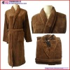 Plus size Long Coral Fleece Bathrobe