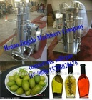 SS hydraulic Olive oil press machine
