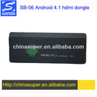 SB-06 mini PC Android TV dongle dual core
