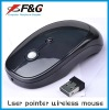 wireless presenter mouse with laser pointer