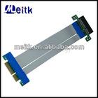 PCI-e 4x Riser Card Extender Ribbon Cable