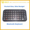 Hot Mini Palm-sized Bluetooth Keyboard for Smart Phone/Pad/PS3