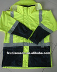 EN1149 Fire Retardant Suit Fireproof Coveralls blended carbon fiber for permanent anti-static