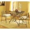 wrought iron craft table cj019