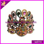 newest colorful peacock design alloy bracelets