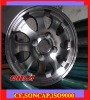 13 Inch aluminium Alloy Wheel