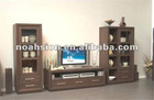 wooden living room TV cabinet