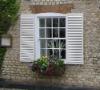 PVC louver shutter window