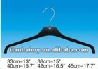 T-1012 plastic top hanger for female's and male's coat,T-shirt,jacket