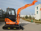 mini escavator 3200kg yanmar engine rotary bucket excavator