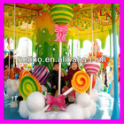 Attractive!! Latest carousel design amusement park rides Honey Tree