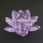 Polished Crystal Lotus