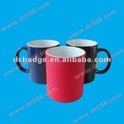 Heat sensitive color changing magic mugs with coating for sublimation printing