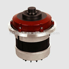 single disc machine AC motor with gearbox