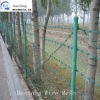 galvanized/pvc coated barbed wire fence design