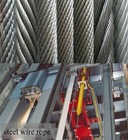 steel wire rope for lifts or elevators