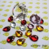 10x14mm Pear shape Sew on acrylic beads