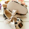 Leopard print cute baby small princess shoes