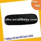 High-quality portable USB 3G Wireless Modem netcard, GSM/GPRS/EDGE 900/1800/1900/850MHZ wifi router,3GR-VJW5