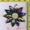 2011 new fashion arylic stone patch Applique