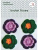 hand crochet flowers for craft