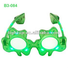 LED Shamrock Sunglasses