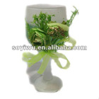 Candle manufacturers wholesale from yiwu market with glass candle holders #203341