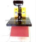 Hot fix machine ---Electrical heated flat press (for cap)