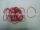 elestic red rubber band