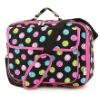 Lovely Multicolor Polka Dot Cosmetic Bag