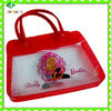 cosmetic Transparent soft pvc pouch(European standard and direct factory )