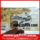 Marketable Custom stub Anti-fake Security coupon