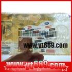 Marketable Custom stub Anti-fake Security coupon