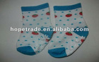 Children's colorful 100% cotton baby booties with good quality