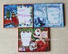 plastic frame for write Christmas greeting