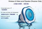 Waterproof Wireless Speaker for ipod iphone
