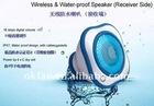 Waterproof Wireless Speaker for ipod iphone