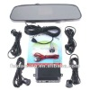 Car 4 Parking Sensors Backup Reverse Radar Rearview Mirror