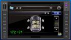 "Best price 6.2"" digital panel 2 din car radio dvd cd gps,support Bluetooth,3D(HY-6207)"