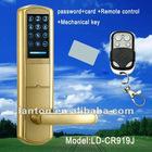with Remote control password door lock