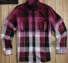 gradient printing casual shirts fashion man shirt