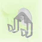 18/0 or 201 transparent suction cup double hooks
