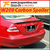 CLK W209 car spoiler carbon spoiler rear trunk spoiler for Benz
