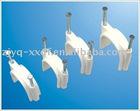 Circle nail cable clips