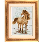 Horses Bring Success Cross Stitch