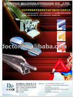 Doctor system and doctor blade for paper making industry
