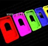 Silicone protective phone fold case for iphone 6A